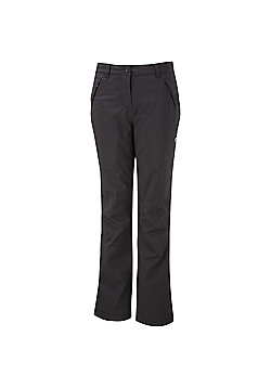 Craghoppers Ladies Aysgarth Waterproof Breathable Stretch Trousers - Black