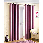 Enhanced Living Wetherby Heather Eyelet Curtains - 46x54 Inches (117x137cm)