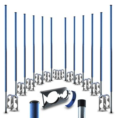 We R Sports 16FT Replacement Trampoline Poles Pole Tube Pipe - For 6 Leg