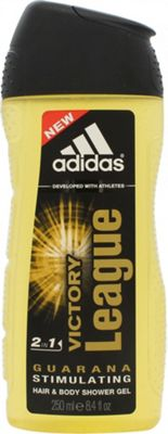 Adidas Victory League 2 in 1 Hair & Body Shower Gel 250ml