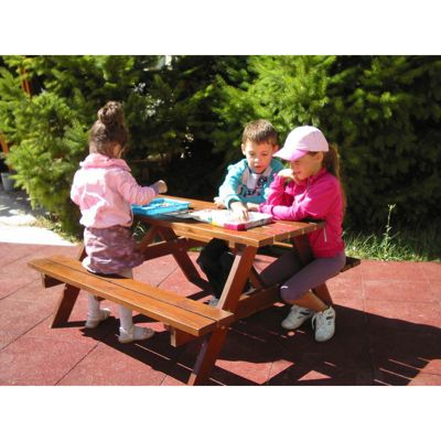 Brackenstyle A Frame Junior Picnic Table - Seats 6