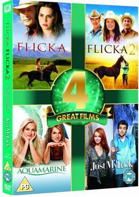 Aquamarine/Just My Luck/Flicka 1 & 2 (DVD Boxset)
