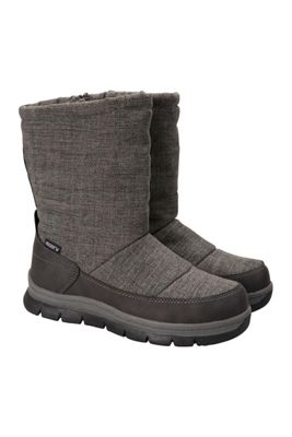 Mountain Warehouse Chalet Slip On Womens Snowboot ( Size: Adult 04 )