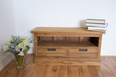 Colonial Style Reclaimed Teak TV Cabinet