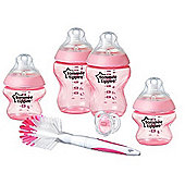 Tommee Tippee Closer to Nature Bottle Starter Kit (Pink)