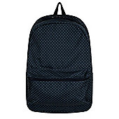 Polka Dot Graphic Navy Backpack