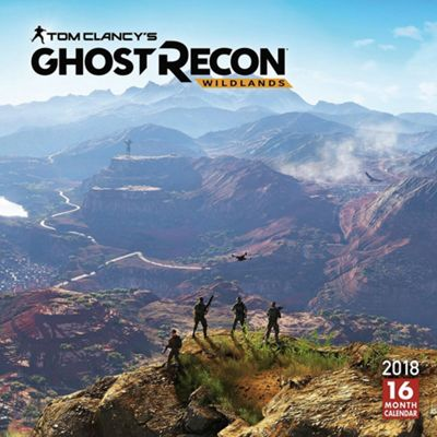 Tom Clancy's Ghost Recon Wildlands 2018 Square Wall Calendar 30 x 30cm