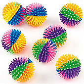 Party Bag Rainbow Hedgehog Balls (Pack of 8)