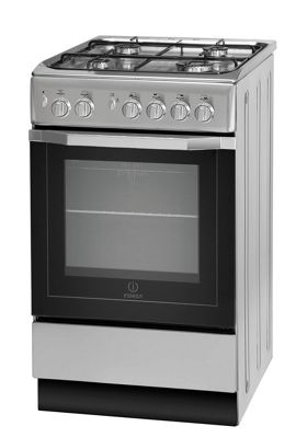 Buy Indesit Gas Cooker with Gas Grill and Gas Hob, I5GG1(S)/UK ...