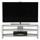 Alphason Francium FRN1100/ARCTIC White TV Stand for up to 50 inch TVs