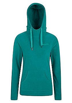 Mountain Warehouse Heather Womens Hooded Fleece - Dark green