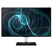 Samsung 27 TV monitor with the blue Touch of Colour (Black)