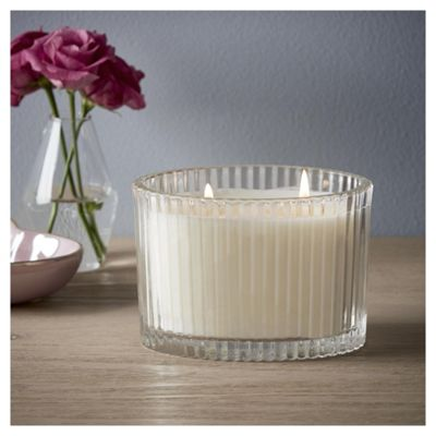 Fox & Ivy Jardin Lge Boxed candle Blue Iris