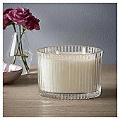 Fox & Ivy Jardin Lge Boxed candle Blue Iris