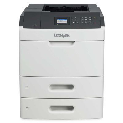 Lexmark MS810dtn Mono Laser Printer 512MB (2.4 inch) Colour LCD Display 52ppm (Mono)