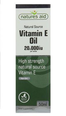 Natures Aid Vitamin E (Natural) 20,000iu Oil