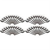 Argon Tableware Set Of 48 Stainless Steel Teaspoons