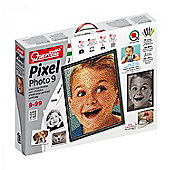 Peg Board Pixel Photo 9 and Pegs - Art for Kids - 14,800 Pieces - Quercetti