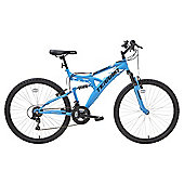 Terrain 26 inch Wheel Full Suspension Blue Unisex Mountain Bike