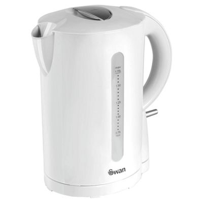 Swan Jug Kettle, 1.7L - White