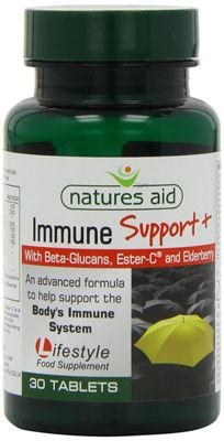 Natures Aid Immune Support + - 30 Tablets
