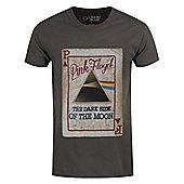 Pink Floyd Dark Side Deck Men's Charcoal T-shirt - Grey