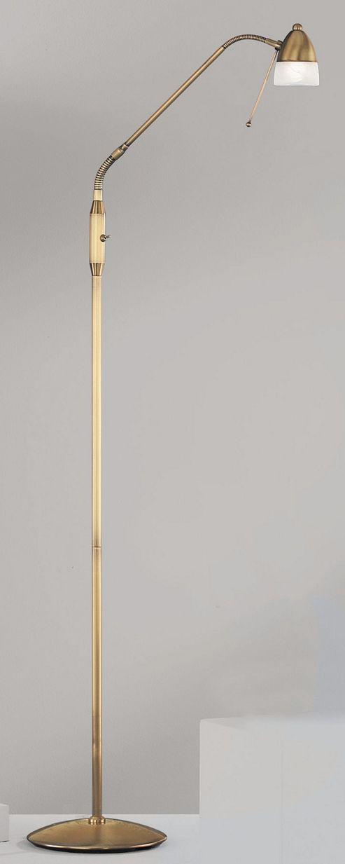 Wofi Ali One Light Floor Lamp - Bronze