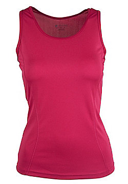 Mountain Warehouse Womens Breathable Vest with IsoCool Fabric and High Wicking - Blue