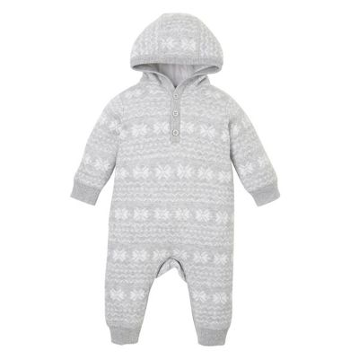 Buy Mothercare Baby Newborn Boy's Fairisle Knitted All In One Size ...