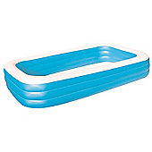 "Bestway Deluxe Blue Rectangular Family Pool 120"" x 72"" x 22"""