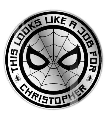 Spiderman Personalised Mirror