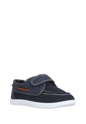F&F Riptape Boat Shoes Navy Child 7