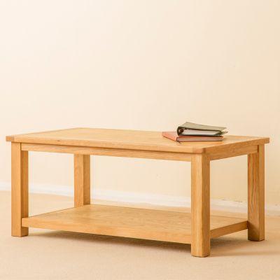 Roseland Oak Coffee Table - Waxed Oak