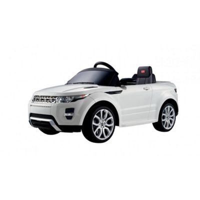 Licensed 12V Evoque Ride On Car White