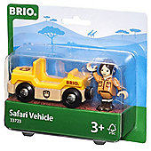 Brio 33723 Safari Vehicle Explorer Jeep For Wooden Train Set