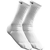 Metasox Elite Crew Sock - White