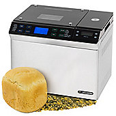 Andrew James Bread Maker with Integrated Scales in Silver