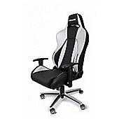 AK Racing Premium V2 Gaming Chair Black & Silver