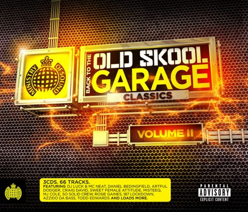 Ministry Of Sound: Back To The Old Skool Garage Classics 2 (3CD)
