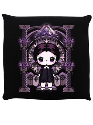 Mio Moon Miss Addams Black Cushion 40x40cm