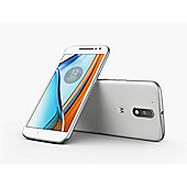 """Motorola Moto G4 White 5.5"""" 16GB 4G Dual SIM Unlocked & SIM Free"""