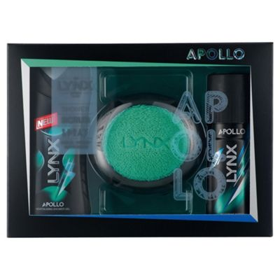 Lynx Apollo Manwash Gift Set