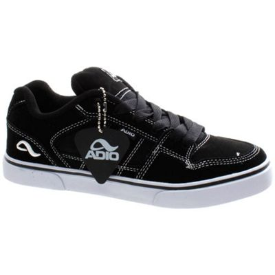 Adio Riviera Kids Black/White Shoe