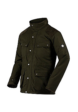 Regatta Ellsworth 4-Pocket Insulated Jacket - Khaki