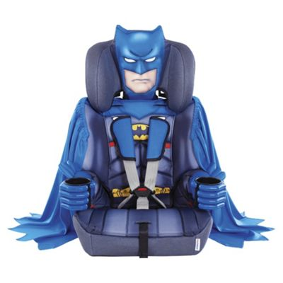Kids Embrace High Back Booster Car Seat with harness, Group 1-2-3, Batman