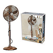 "Limitless 16"" Inch Copper Pedestal Stand Fan"