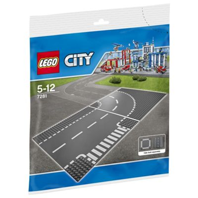 LEGO City Town T-Junction & Curve 7281