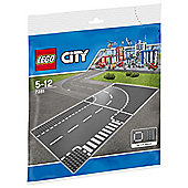 LEGO T-junction & Curve 7281