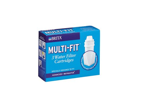 Brita Multifit Water Filter Cartridge 3 Pack