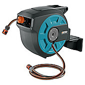 Gardena Wall Mounted Hose Box with Auto Roll-up, 15m